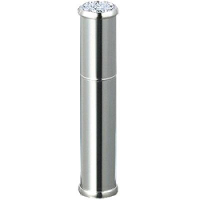 メタルアトマイザ― メタルポンプ 30121 15mm径 シルバ― ラインストーン20石 3.5ml
