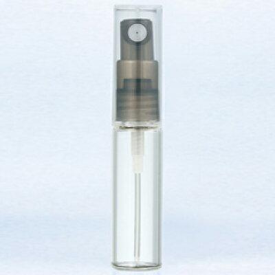 グラスアトマイザー プラスチックポンプ 無地 40208 ポンプ ブラック 4ml