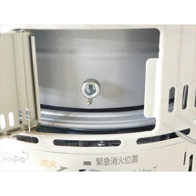 トヨトミ 対流形石油ストーブ 17~24畳用 ホワイト KS-67HW(1台)