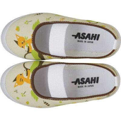 アサヒ キッズ・ベビー向け上履き S02 キツネ 17.0cm(1足)