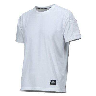 カジメイク ソフトドライナー半袖シャツ ホワイト LL 個数: 番:8804-01-LL