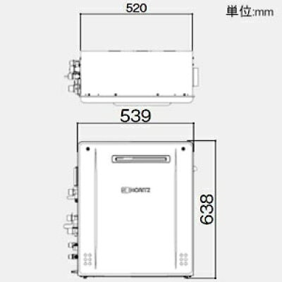 ノーリツ GT-C2062SARX BLLPG
