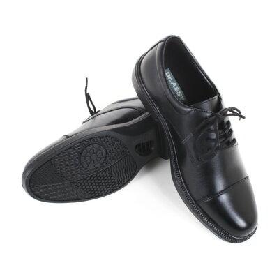 Dr.ASSY ドクターアッシー DR-6047 ブラック ビジネスシューズ 革靴 4E