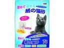 サノテック トイレにポイ! 固めて流せる紙の猫砂 7L (3-5-03)