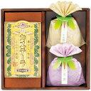 ゆかり屋本舗 カステラ ギフトセット 長崎製法カステーラ&緑茶詰合せ KT-15