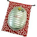 湯たんぽA(エース)3.5L (和柄 紺 袋付き)金属製湯たんぽ 3.5リットル(マルカ)