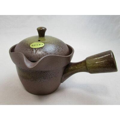 茶がらっポイ急須 灰釉