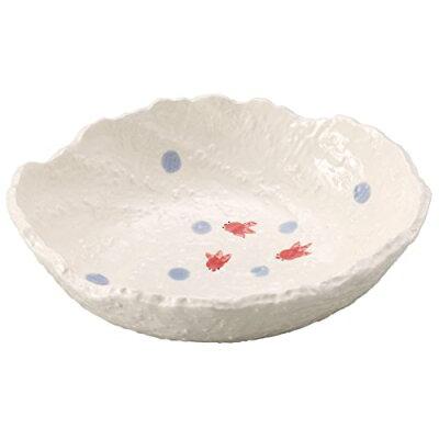 萬古焼 麺の器 9号麺鉢 ておこし 金魚 15421