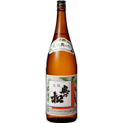 奥の松 本醸造金紋 1.8l