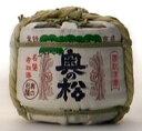 奥の松 金紋 豆樽 300ml