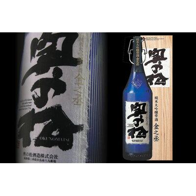 奥の松 純米大吟醸雫酒 金之丞 1.8L