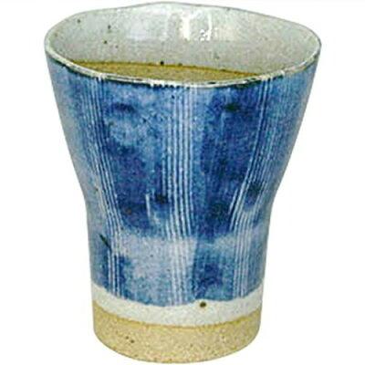 フリーカップ 藍刷毛 グラス/有田焼