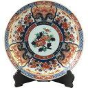 西日本陶器 金彩花模様 額皿