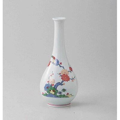 (有田焼)梅花鳥花瓶弥佐エ門作化粧