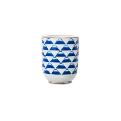 西海陶器 The Porcelains 湯呑 富士山
