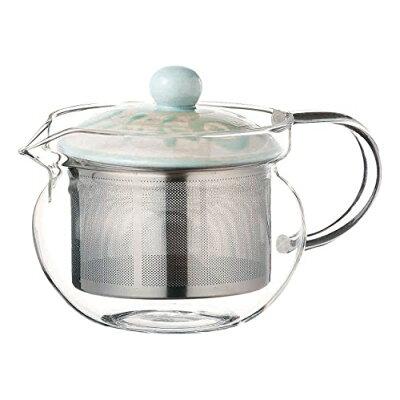 西海陶器 ガーデン スーパーステンレス茶こしポットEG(ガラス) 12734