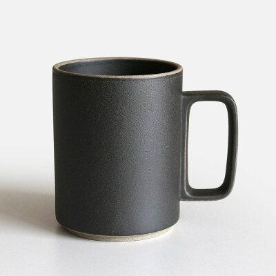ハサミポーセリンHASAMI PORCELAIN マグカップsize:L/Black/HPB021Mug Cup/波佐見焼111138