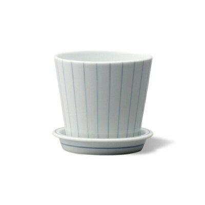 西海陶器 essence esテーブルポット ストライプ B 13688