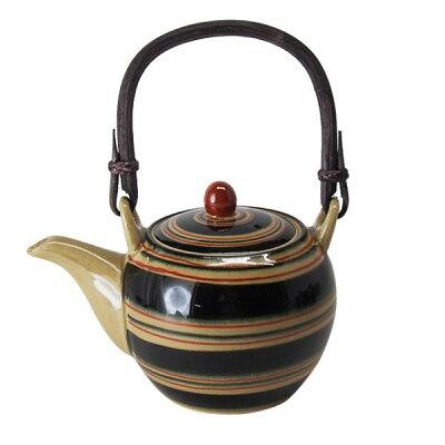 西海陶器 コマ筋紋 豆土瓶 14004