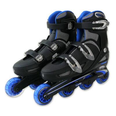 TOHO 一般用 ワンタッチサイズ調整式 インラインスケート #9000 BL