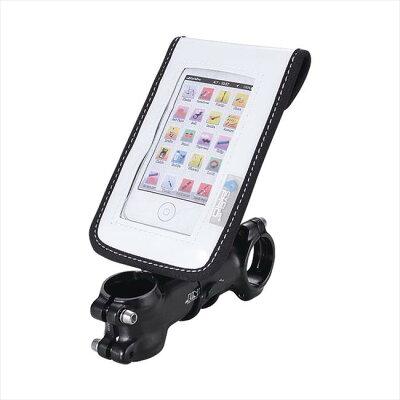 CYCLEPRO スマートフォンバッグ ステム用 WH CP-BG26