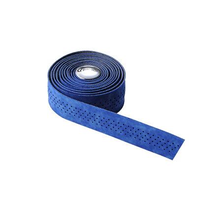 CYCLE PROサイクルプロ ベルベットバーテープ ブルー エンドプラグ付 ソフトタッチ CP-BT023LH
