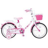 18インチ自転車 マリー 幼児用自転車 子供用自転車 キッズ用 補助輪付き PK