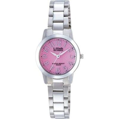 キュー&キュー Q&Q Lilish リリッシュ ピンク カジュアルウォッチ H997-901 レディース 腕時計 #79890