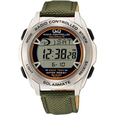 シチズン時計 Q&Q ソーラー電源電波時計 MHS7-330(1個入)