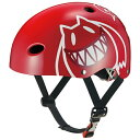 OGK子供用ヘルメット FR-KIDS モンスターレッド/50~54cm FRKIDS