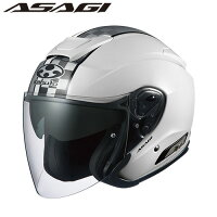 OGK KABUTO オージーケーカブト ジェットヘルメット ASAGI アサギ SPEED スピード ホワイト ヘルメットbr /バイク用ヘルメット サイズ:M