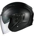 OGK KABUTO オージーケーカブト ジェットヘルメット EXCEED エクシード フラットブラック ヘルメット サイズ:M