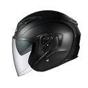 OGK KABUTO オージーケーカブト ジェットヘルメット EXCEED エクシード フラットブラック ヘルメット サイズ:L