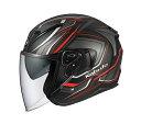 OGK KABUTO オージーケーカブト ジェットヘルメット EXCEED CLAW エクシード クロー フラットブラック ヘルメット サイズ:M