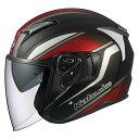 OGK KABUTO オージーケーカブト ジェットヘルメット EXCEED DEUCE エクシード デュース フラットブラック ヘルメット サイズ:L