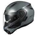 OGK_RYUKI_MGRY_L OGKカブト システムヘルメット ミディアムグレー L RYUKI