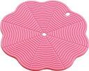 川崎合成樹脂 ベジタブル倶楽部 カラフルズ 吸盤付シリコーンマット ピンク