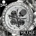 VOLTAGE ヴォルテージSENTINEL V センティネル5メンズ腕時計VO-013VS-01/W
