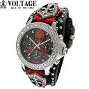 ヴォルテージ VOLTAGE 腕時計 SENTINEL VO-013VI S-02/BRD メンズ