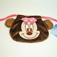 MN226399/MK ぬいぐるみ巾着/ミニー Disney
