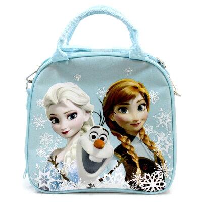 アナと雪の女王/ランチバッグ水筒 /ブルー
