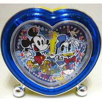 ミッキー&ドナルド(目覚まし時計)ハート型アラームクロック(ライト付)/2nd ディズニー MKDO228027