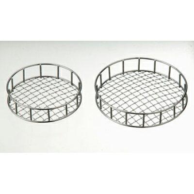 エムテートリマツ 4434201 MT18-8枠付丸焼き網13cm