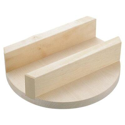 明 木製釜蓋32cm