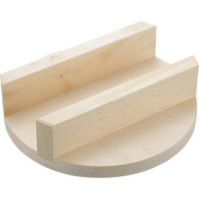 明 木製釜蓋38cm