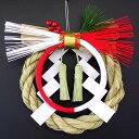 紅白リース飾り 6和かざりシリーズお正月飾りお正月リースお正月玄関