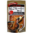 コスモ食品 直火焼 りんごカレールー 甘口 170g