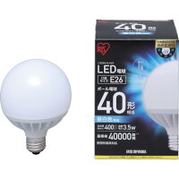 LEDボール球 40W 昼白色 LDG4N-G-4V3 電球色 LDG4L-G-4V3 アイリスオーヤマ