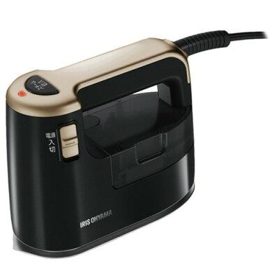 アイリスオーヤマ 衣類用スチーマー IRS-01 ブラックゴールド(1台)