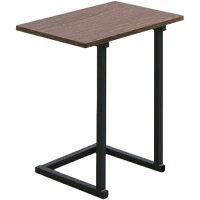 サイドテーブル SDT-45 ブラウンオーク ブラック テーブル 机 木製 木目調